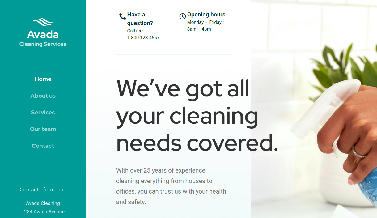 Cleaning Services Demo